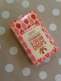 M&S cream drops