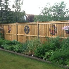 Really Like The Ground Landscape. Could Be A Cool Garden! Denise Daniel · Backyard  Fences