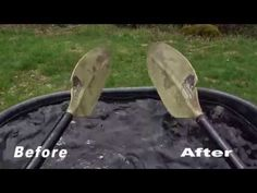 Easy Dripless Paddle Hack - YouTube