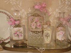 Chateau De Fleurs: French Style Perfume Bottles
