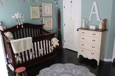 This is my nursery that got pinned, yah!!  Missing a few details I have added since but still cool it got pinned!