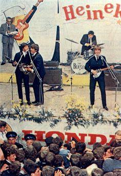 The Beatles concert in Blokker, the Netherlands, 5 June 1964.
