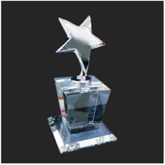 Star Crystal Trophies and awards by JD Technology.