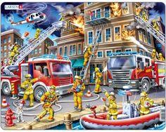 Larsen Firefighters Puzzle 45 pcs 022021 US21