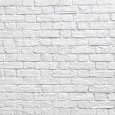 Adesivo Decorativo - Adesivo de Parede: Painel Tijolo Branco - Deccolar Adesivos Decorativos