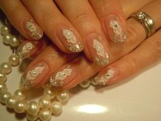 Acrylic Nail Ideas With Pearl