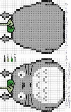 TOTORO CROSS STITCH PATTERN | Cross Stitch Collection
