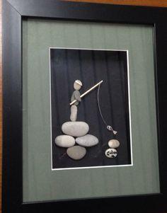 DIY Pebble art ( gülen)