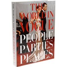 Perfect for any fashion lover! A hand-signed copy of The World in Vogue, by author Hamish Bowles.