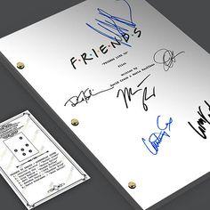 FRIENDS TV Pilot Episode Script Screenplay - Signed Autograph Reprint - Jennifer Aniston, Courtney Cox, David Schwimmer, Matt LeBlanc