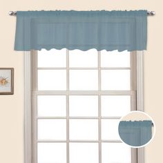 United Curtain Monte Carlo Straight Window Valance - MCSVABZ