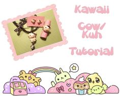 Kawaii cow tutorial
