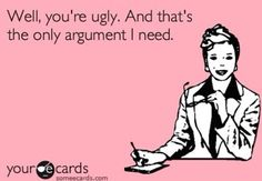 The only argument anyone needs!!
