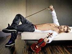 Truly the devil's violinist *_* David Garrett with his  Guadagnini, the king of violins!