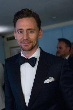 Tom Hiddleston at the Backstage of BAFTA 2017 on Feb 12, 2017. Photo by Jonny Birch
