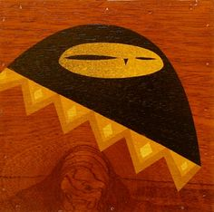 owl from the Owls of the World 2007 series by Darren Henderson Symbols, Superhero Logos, Art Projects, Art, Whimsical, Bat Signal