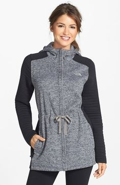 Free shipping and returns on The North Face 'Indi' Hoodie at Nordstrom.com. Extend camping season despite the falling temperatures with this heavyweight drawstring sweatshirt lined with exceptionally soft and warm brushed fleece. Ribbed sleeves are packed with added insulation to keep heat from escaping, while a durable, water-resistant finish keeps you dry in light drizzles.