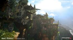 naughty dog, UNCHARTED 4: A Thief's End, art, 3d art, concept art, uncharted, uncharted 4, nathan drake, sam drake, elena fisher, sallivan, game art, gamedev, game development, game industry, lighting, concept art, environments