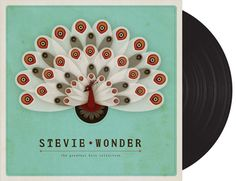 LP Cover : Stevie Wonder