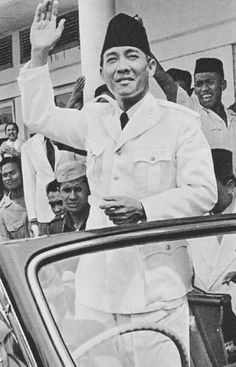 Indonesia's First President, Sukarno