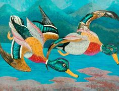 Cedric Lockwood Morris.Ducks