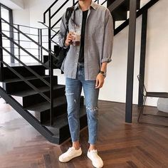 107 unutterable urban dresses style ideas – page 1 80s Fashion Men, Korean Fashion Men, Fashion Mode, Look Fashion, Fashion Outfits, Latex Fashion, Fashion Vintage, Stylish Mens Outfits, Simple Outfits