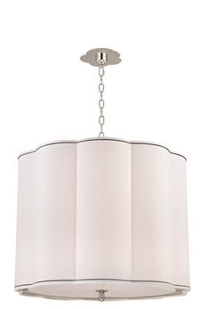 Hudson Valley Lighting 7925 Sweeny 5 Light Pendant Polished Nickel Indoor Lighting Pendants