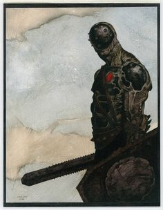 Gerald Brom...god this character is bananas! Awesome piece!