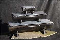 """The Kotaigrill by Halsey Frost. Made by hand from heavy-welded steel, this hibachi grill is """"for the discerning outdoor chef."""" I like that the grilling surface can handle vegetables as well as meat -- no more sacrificing zucchini to the charcoal god!"""