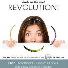 OA Sweet Headbands... ONE BAND - ENDLESS LOOKS !  www.oasweet.com