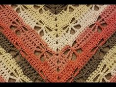 Part 1 - The Butterfly Stitch Prayer Shawl Crochet Tutorial! - YouTube