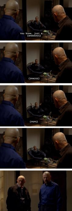 "When Jesse actually came up with an idea. | 28 Times ""Breaking Bad"" Was Really Fucking Funny"