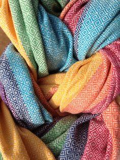 Girasol Diamond Weave Snow Rainbow {dream wrap} http://abbycoop.files.wordpress.com/2012/08/photo-21.jpg