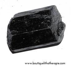 Beaux cristaux 1er choix de tourmaline noire monoterminée, 160-200g, une grande pierre noire de protection en vente BoutiqueLithotherapie.com