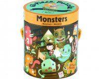 Puzzle Monstruos, de Mundpuppy