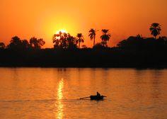 Egypt ; Nile in Louxor