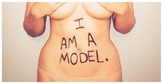 """Can You Believe That People Call Her A """"Plus Size"""" Model? Neither Can She."""