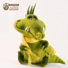 Felted dragon by Valentina Krasnovaya