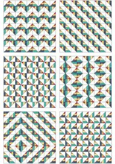 Jelly Roll quilt patterns by Amy Gibson