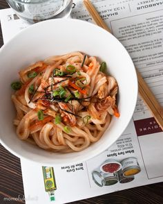 OMG @Momofuku Kimchee Udon, please, just kill me now. I need this!