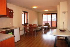 We are very pleased to offer this lovely 2 bedroom apartment for sale in New Inn, Bansko. Table And Chairs, Dining Table, Living Place, 2 Bedroom Apartment, Apartments For Sale, Best Location, Double Beds, Great View, Sofa Bed
