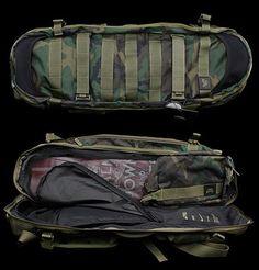 """Nike SB Shuttle Bag – Lowland """"ERDL"""" Woodland Camouflage Edition"""