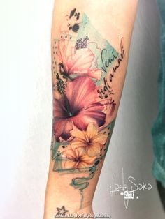 Abstract flowers hibiscus tattoo avant-garde flower tattoos татуировки, и. Floral Tattoo Design, Flower Tattoo Designs, Tattoo Designs For Women, Tattoos For Women, Tattoo Henna, Diy Tattoo, Tattoo Fonts, Tattoo Ideas, Tattoo Skin