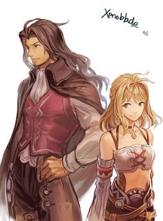Xenoblade Chronicles - Dunban and Fiora