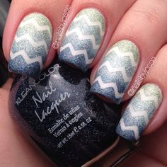 16 Zig-Zag Nail Art Designs To Try This Spring | Nail Design