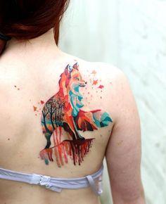 80 Beautiful Back Shoulder Tattoo Designs - TattooBlend Cool Shoulder Tattoos, Back Of Shoulder Tattoo, Shoulder Tattoos For Women, Tattoo Femeninos, Tattoo Style, Piercing Tattoo, Otter Tattoo, Blade Tattoo, Lizard Tattoo
