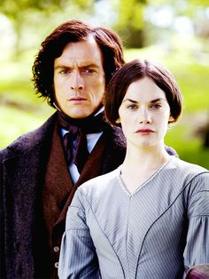 Toby Stephens (Edward Fairfax Rochester) & Ruth Wilson (Jane Eyre) - Jane Eyre directed by Susanna White (TV Mini-Series, BBC, 2006) #charlottebronte