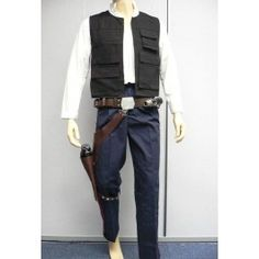 Han Solo ANH Full Costume Star Wars