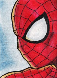 The Amazing Spiderman Art Print - Visit to grab an amazing super hero shirt now on sale! Spiderman Kunst, Spiderman Drawing, Croquis Disney, Art Sketches, Art Drawings, Avatar The Last Airbender Art, Marvel Drawings, Marvel Art, Ms Marvel