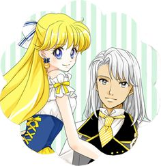 Kunzite and Minako